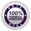 ABTA and ATOL 100% Financial Protection